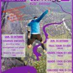 Course de la Passerelle, Pratz (39), 04/10/2020