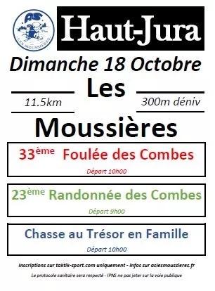 Read more about the article La foulée des Combes, les Moussières (39), 18/10/2020