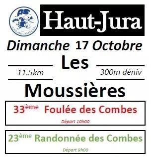 Read more about the article Foulées des Combes, Les Moussières, 17/10/2021
